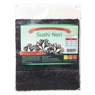 NUTRITIONIST CHOICE Sushi Nori 10 Sheets 25g