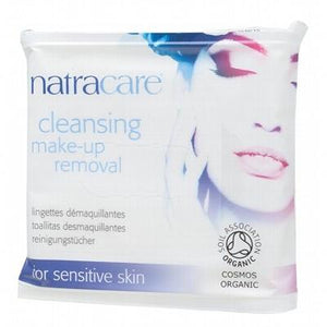 NATRACARE Make-Up Removal Wipes for Sensitive Skin 20