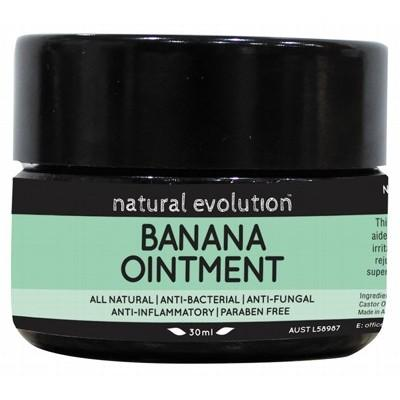 NATURAL EVOLUTION Banana Ointment All Natural Healing Ointment 30ml