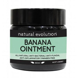 NATURAL EVOLUTION Banana Ointment All Natural Healing Ointment 60ml