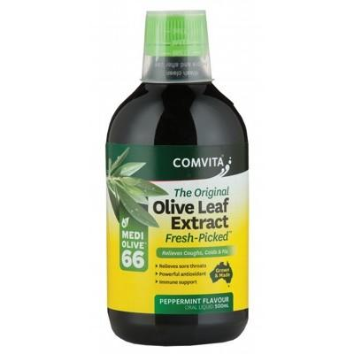 COMVITA Olive Leaf Extract Peppermint (Medi Olive 66) 500ml