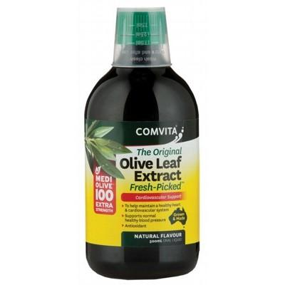 COMVITA Olive Leaf Extract Extra Strength (Medi Olive 100) 500ml