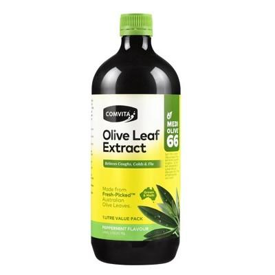 COMVITA Olive Leaf Extract Peppermint (Medi Olive 66) 1L
