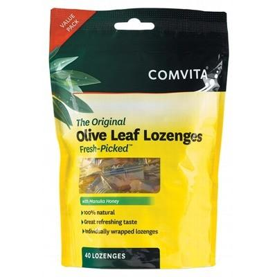 COMVITA Olive Leaf Extract Lozenges With Manuka Honey 40