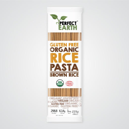 PERFECT EARTH Organic Rice Pasta - Brown 225g