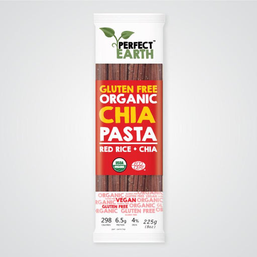 PERFECT EARTH Organic Rice & Chia Pasta - Red 225g