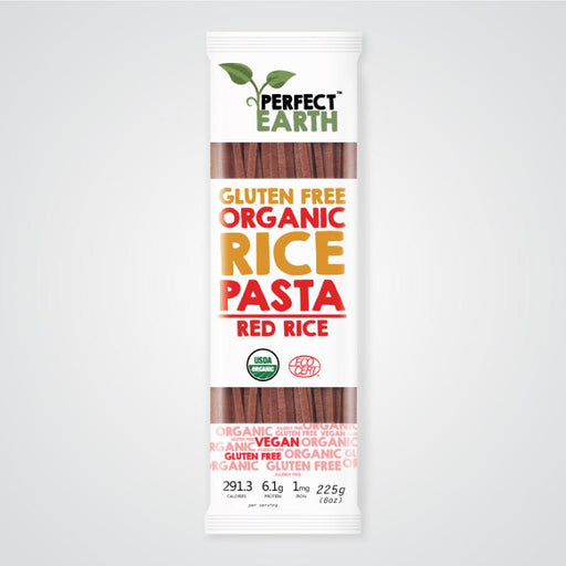 PERFECT EARTH Organic Rice Pasta - Red 225g