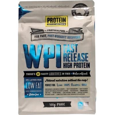 PROTEIN SUPPLIES AUST. WPI (Whey Protein Isolate) Pure 500g