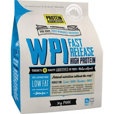 PROTEIN SUPPLIES AUST. WPI (Whey Protein Isolate) Pure 3kg
