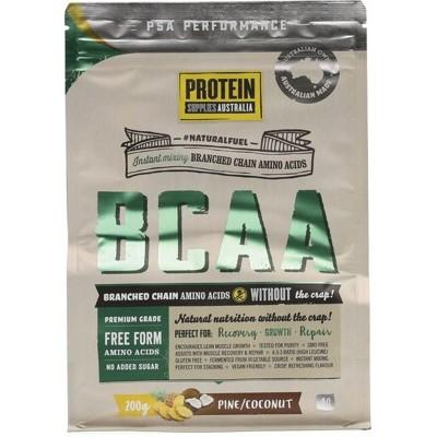 PROTEIN SUPPLIES AUST. Branched Chain Amino Acids Pine Coconut 200g