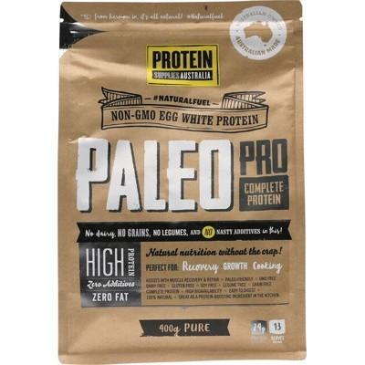 PROTEIN SUPPLIES AUST. PaleoPro (Egg White Protein) Pure 400g