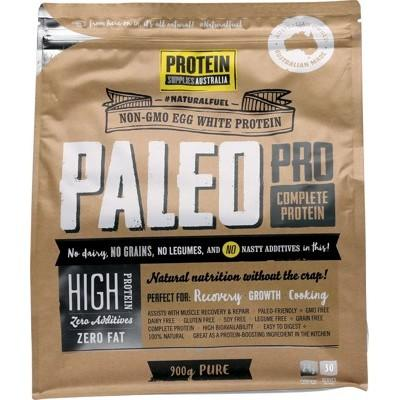 PROTEIN SUPPLIES AUST. PaleoPro (Egg White Protein) Pure 900g