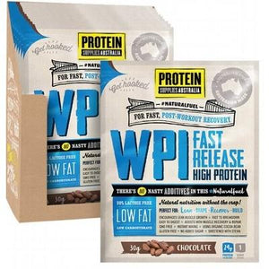 PROTEIN SUPPLIES AUST. WPI (Whey Protein Isolate) Chocolate 30g
