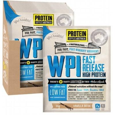 PROTEIN SUPPLIES AUST. WPI (Whey Protein Isolate) Vanilla Bean 30g