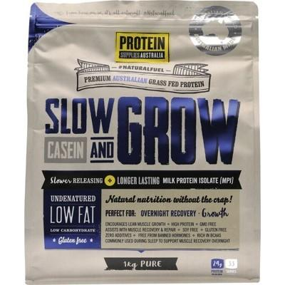 PROTEIN SUPPLIES AUST. Slow & Grow (Slow Release) Pure 1kg