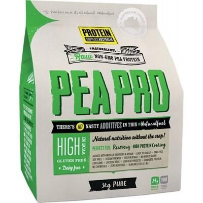 PROTEIN SUPPLIES AUST. PeaPro (Raw Pea Protein) Pure 3kg