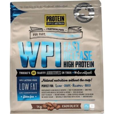 PROTEIN SUPPLIES AUST. WPI (Whey Protein Isolate) Chocolate 1kg
