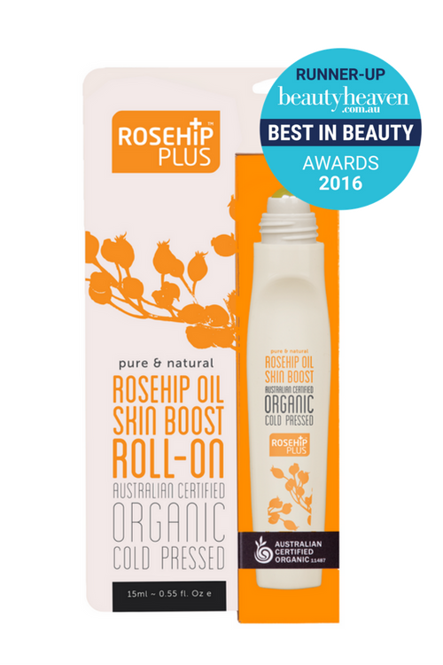 ROSEHIP PLUS Organic Skin Boost Rosehip Oil (Roll-on) 15ml