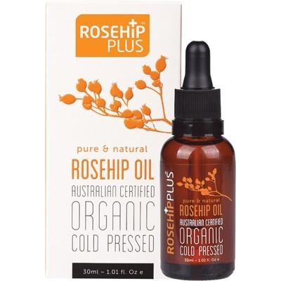 ROSEHIP PLUS - Organic Cold Pressed Rosehip Oil - 30ml