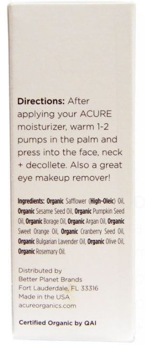 ACURE Organic Facial Serum Seriously Firming 30ml