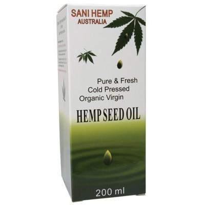 SANI HEMP - Organic Hemp Seed Oil - 200ml