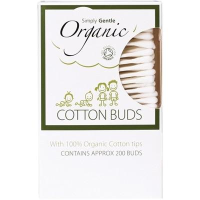 SIMPLY GENTLE ORGANIC 200 Cotton Buds