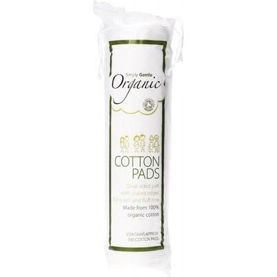 SIMPLY GENTLE ORGANIC 100 Cotton Pads