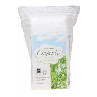 SIMPLY GENTLE ORGANIC 60 Baby Cleansing Pads