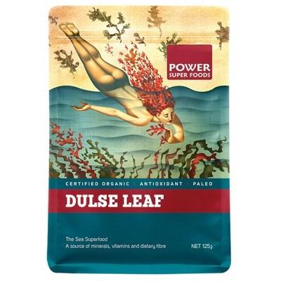 POWER SUPER FOODS Organic Red Dulse Leaf Sea Power 125g