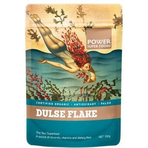 POWER SUPER FOODS Sea Power Organic Dulse Flakes - 200g
