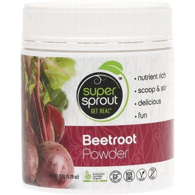 SUPER SPROUT Organic Beetroot Powder 150g