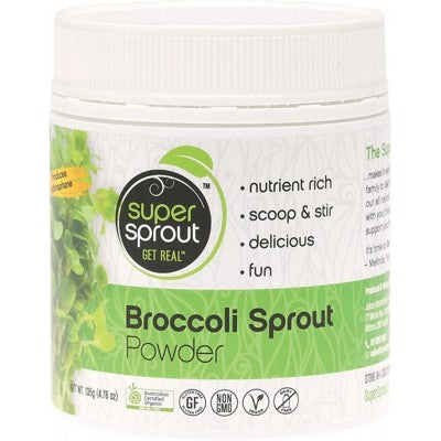 SUPER SPROUT Organic Broccoli Sprout Powder 135g