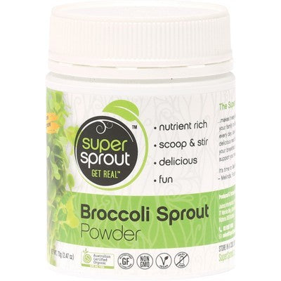 SUPER SPROUT Organic Broccoli Sprout Powder 70g