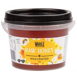 THE WHOLE FOODIES Honey (Wild Crafted) Tub 1kg