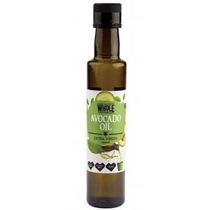 THE WHOLE FOODIES Avocado Oil Cold Pressed - Extra Virgin 250ml