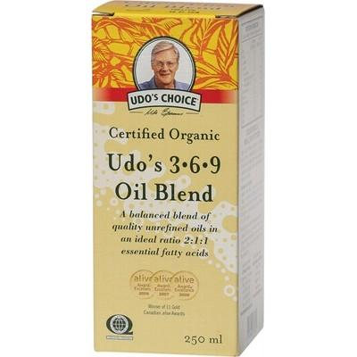UDO'S CHOICE - Organic Omega Oil 3.6.9 Oil Blend - 250ml