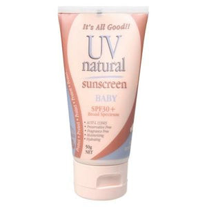 UV NATURAL Baby Sunscreen SPF 30+ 50g