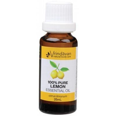 VRINDAVAN Essential Oil (100%) Lemon 25ml