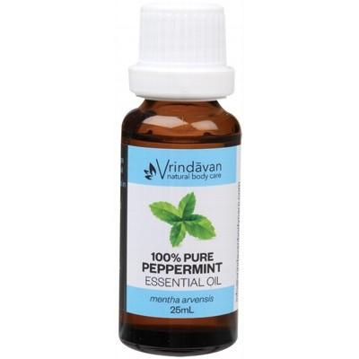 VRINDAVAN Essential Oil (100%) Peppermint 25ml
