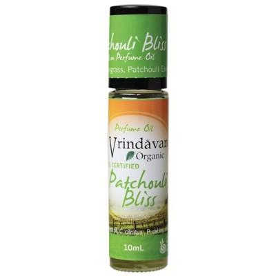 VRINDAVAN Patchouli Bliss - Organic Perfume Oil - 10ml