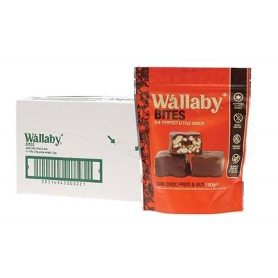 WALLABY BITES Snacks - Dark Chocolate Fruit & Nut 150g