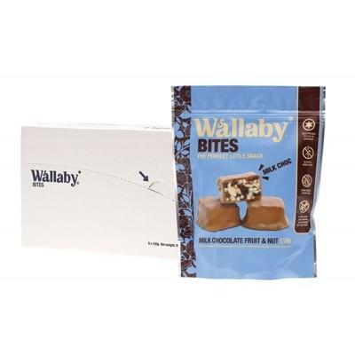 WALLABY BITES Snacks - Milk Chocolate Fruit & Nut 150g