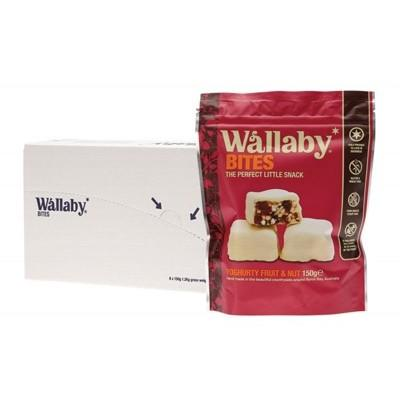 WALLABY BITES Snacks - Yoghurt Fruit & Nut 150g