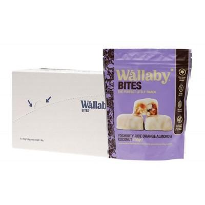 WALLABY BITES Snacks - Yoghurt Orange/Almond/Coconut 150g