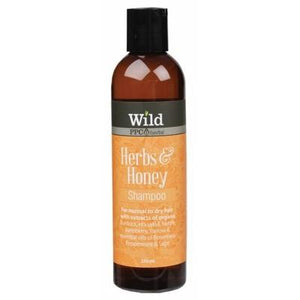 WILD Herbs & Honey Organic Shampoo - 250ml