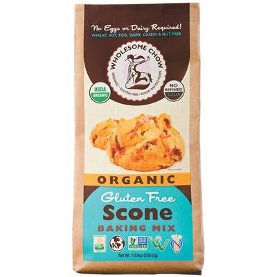 WHOLESOME CHOW Scone Mix Organic & Gluten Free 300g