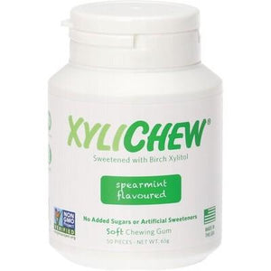 XYLICHEW Xylitol Soft Chewing Gum Spearmint 50 pcs