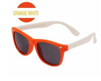 Kids Polarized Sunglasses - Designer Sport Shades For Boys Girls Goggle Baby Glasses