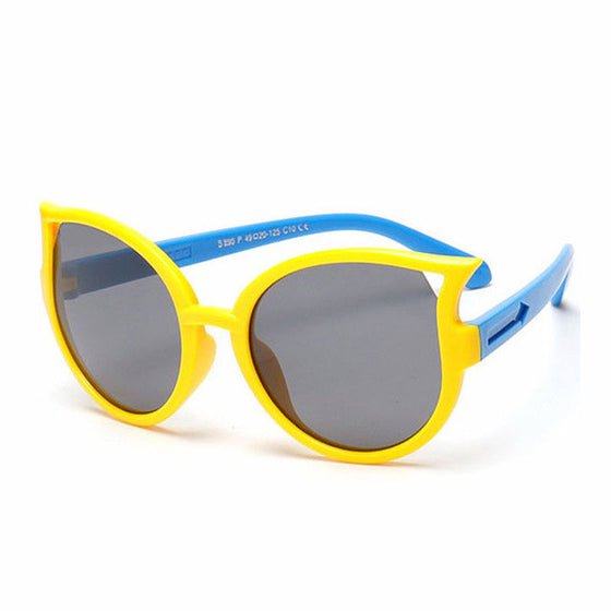 Kids Cat Eye Polarized Sunglasses  - Baby Anti UV Sun Glasses