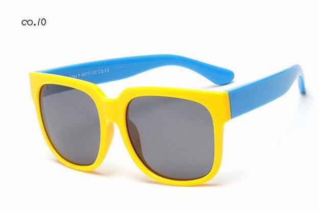 Kids Polarized Sunglasses - Child Sun Glasses Baby Vintage Eyeglasses Outdoor Goggles